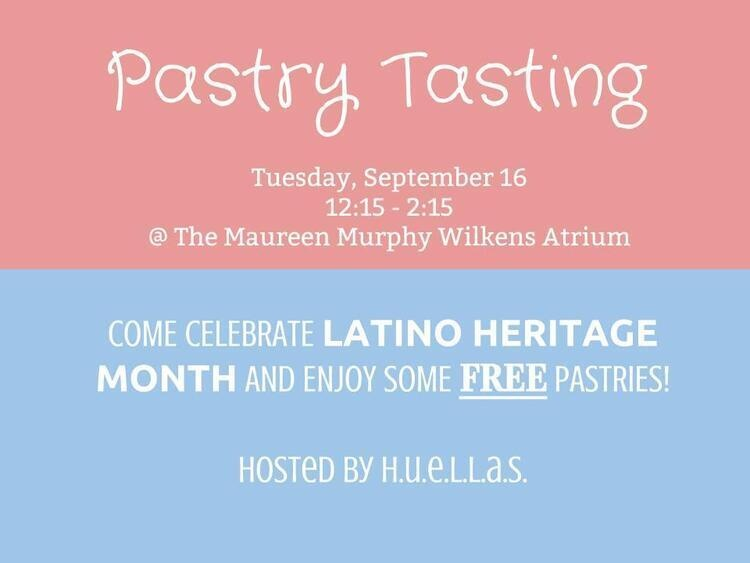 Pastry Tasting hosted by H.U.E.L.L.A.S.