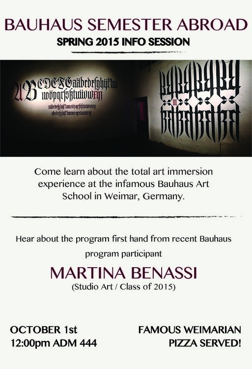 Bauhaus Infosession