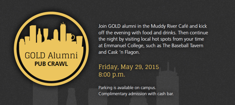 Alumni Pub Crawl Led By GOLD