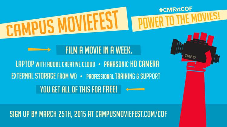 Campus Movie Fest: Equipment Pickup