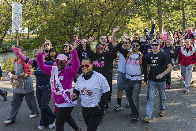 Sunday Service: Making Strides Against Breast Cancer Walk