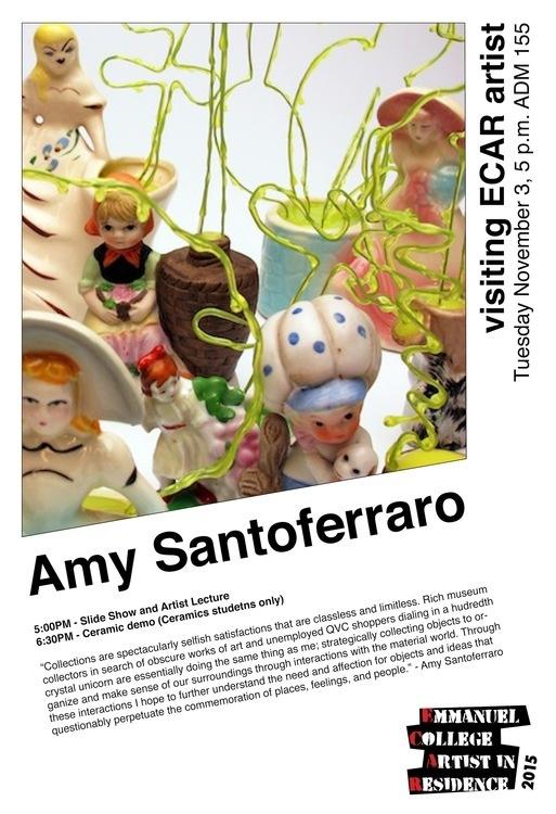 ECAR Visiting Artist - Amy Santoferraro