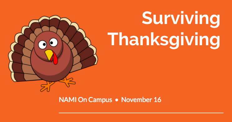 NAMI on Campus: Surviving Thanksgiving