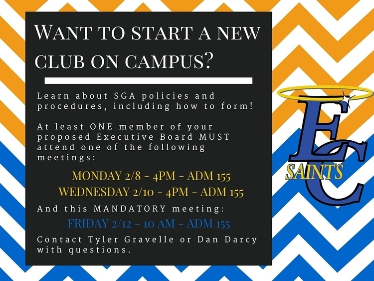 New Club Information Session
