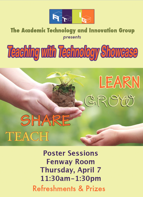 Spring 2016 Teaching with Technology Showcase